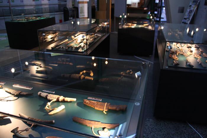 マキリ 二風谷アイヌ文化博物館